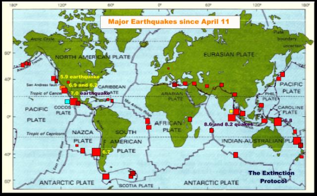 Les séismes du nord de Sumatra ont-ils initié une réaction en chaîne ? A-world