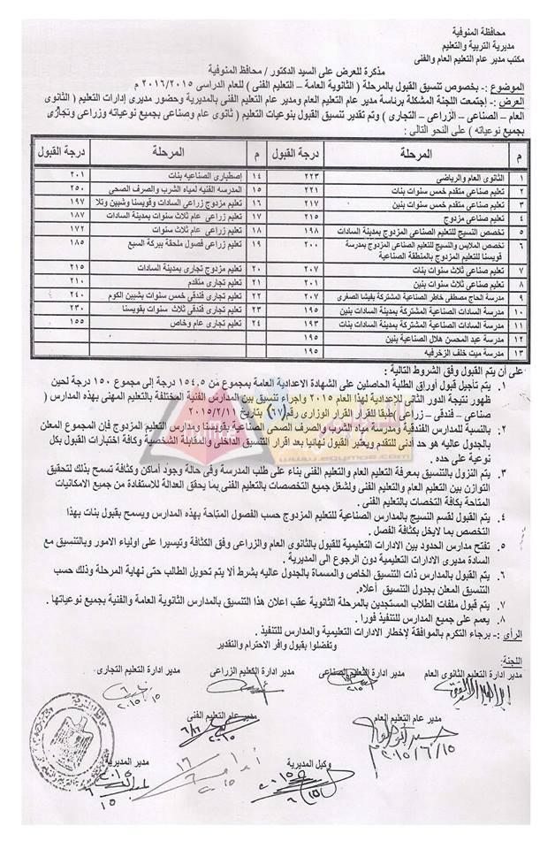 تنسيق القبول بالصف الاول الثانوى 2016 لجميع محافظات مصر - صفحة 4 Modars1.com_%25D8%25A7%25D9%2584%25D9%2585%25D9%2586%25D9%2588%25D9%2581%25D9%258A%25D8%25A9