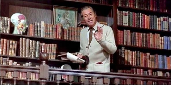 Les scènes de librairies et de bibliothèques au cinéma! Myfairlady02