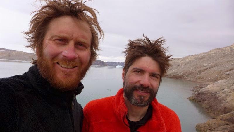Nouveau record de distance !!! 5067 km en 58 jours dans le Groenland . Arrivee
