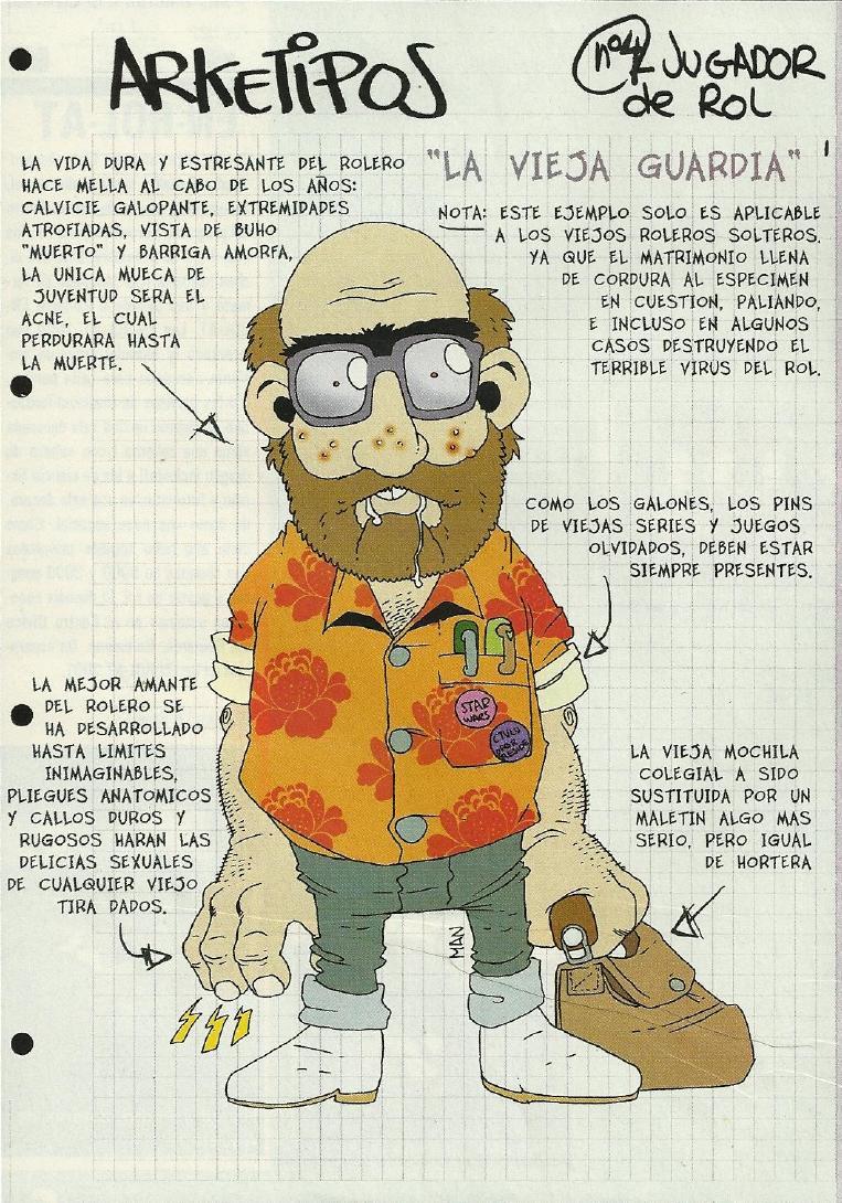 Arquetipos roleros (humor) 4