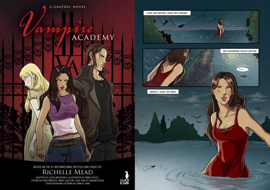 Академия за вампири - комикс 1-5775e44146