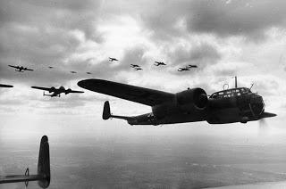 Light bombers over France , 1940