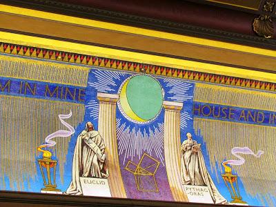 Freemasons' Hall, The United Grand Lodge of England Freemason_pythagoras