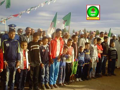الإحتفال بالذكرى58لإندلاع ثورة 1نوفمبر 1954 المجيدة بمدينة زريبة الواد PICT0858