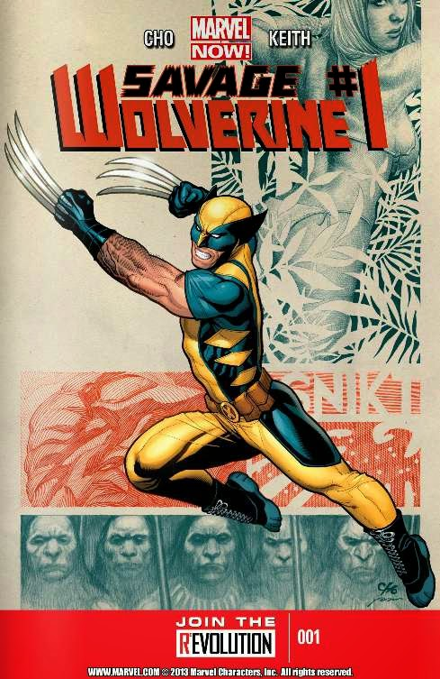 Wolverine Savage%2BWolverine%2B01