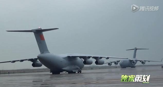 Zhuhai 2014 (11 au 16 Novembre) -  Airshow China 2014      Comparison-Y-20-C-17%2B2