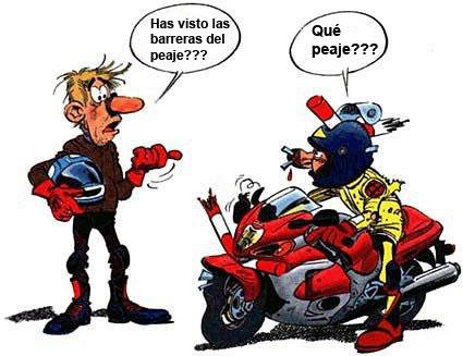 Una buena noticia para los que atravesamos peajes en moto!!  Barreras-del-peaje-comic-divertido-suzuki-gsxr-1300-hayabusa