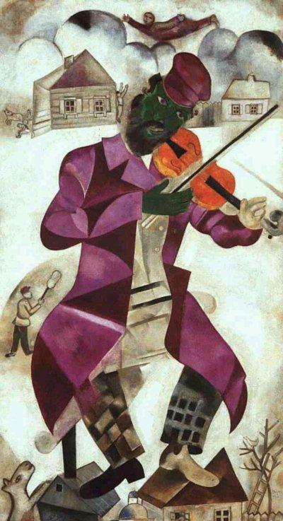EL VIOLINISTA DE AUSCHWITZ Chagall