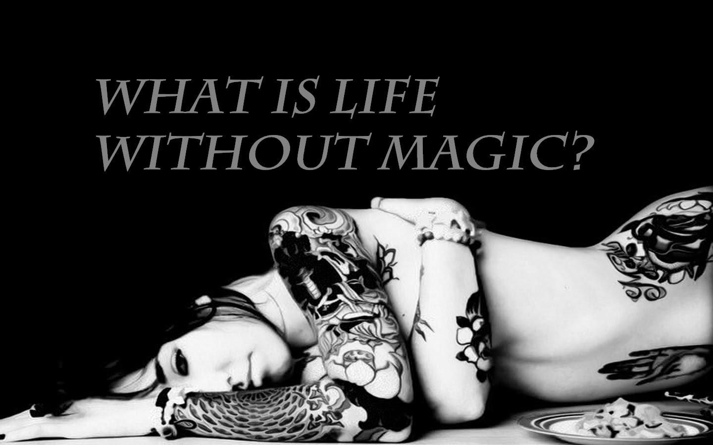 Cassandra y Sybill Trelawney Black-and-White-Tattoos
