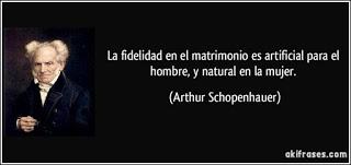 FIDELIDAD Y EXCLUSIVIDAD SEXUAL. NO SON LO MISMO Frase-la-fidelidad-en-el-matrimonio-es-artificial-para-el-hombre-y-natural-en-la-mujer-arthur-schopenhauer-177174