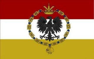 120 Grana 1854, Reino de Nápoles y Sicilia. Bandera_galeones