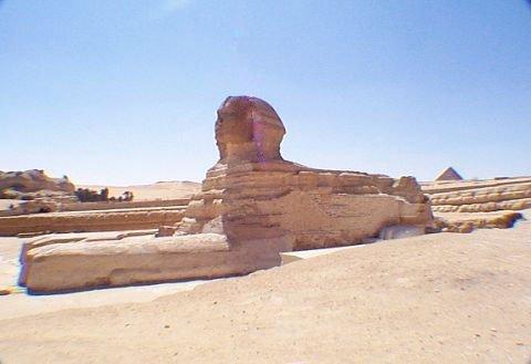 Giza – the Time Machine  SphinxA