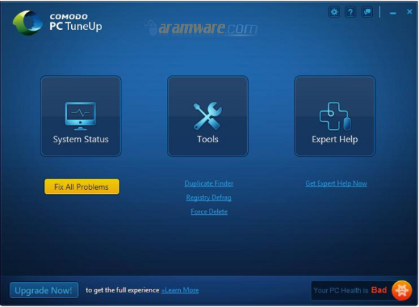 Comodo PC TuneUp 1.0 عزز وقوي من اداء وسرعة اداء الكمبيوتر الخاص بك Comodo-PC-TuneUp