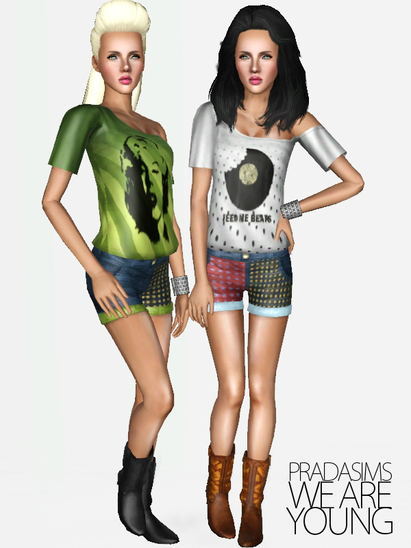 'We Are Young' Female Clothing Set by Justin_58 (Pradasims) Screenshot-79