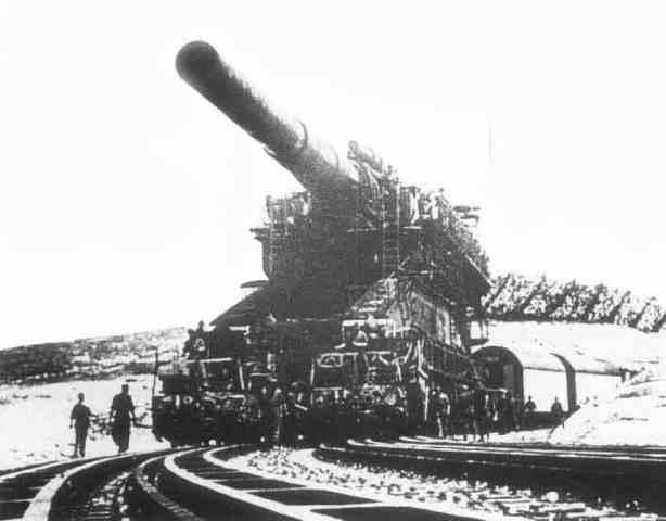 اكبر واقوى الاسلحة التي بنيت على مر العصور  Gustav