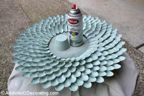 أعيدي  الحياة لجدران منزلك بلوحة جميلة Chrysanthemum-mirror-7
