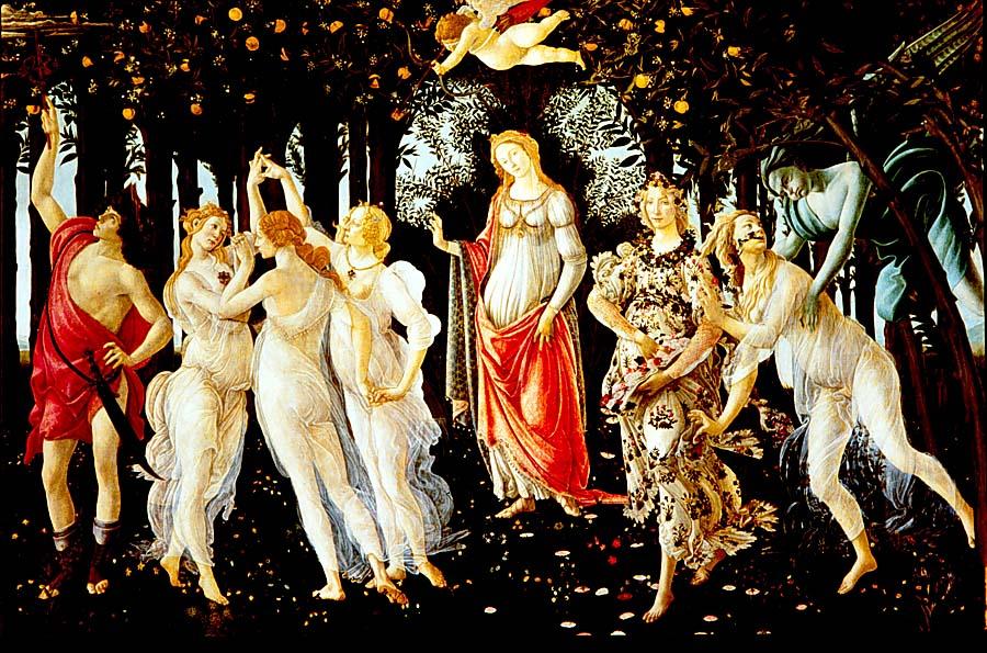 2. Técnicas y medios de la pintura y el dibujo Botticelli