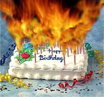 Shit guys, it's my birthday. Cake