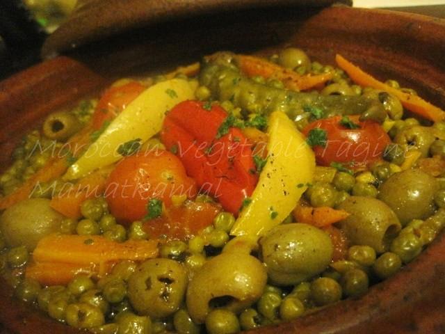 Moroccan Vegetable Tagine / Tajine marocain végétarien Img_5313