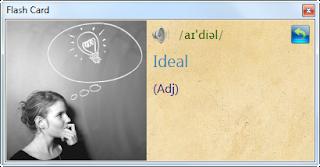 English Tooltip Free - Học từ vựng thật dễ dàng…! FrmFlashCard_Font