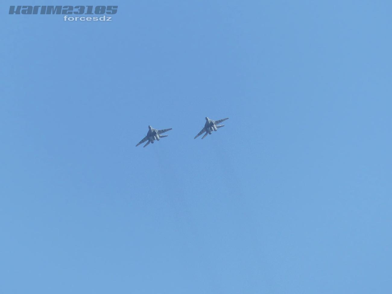 صور طائرات القوات الجوية الجزائرية  [ MIG-29S/UB / Fulcrum ] 2