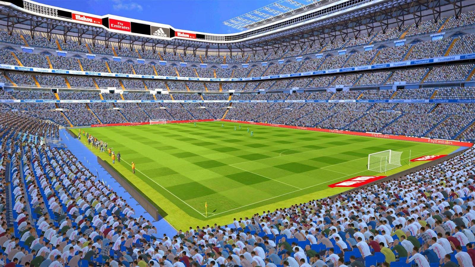 PES 2015: Estádio Santiago Bernabéu - Real Madrid HD 10830986_721144731303869_3682677385083291161_o