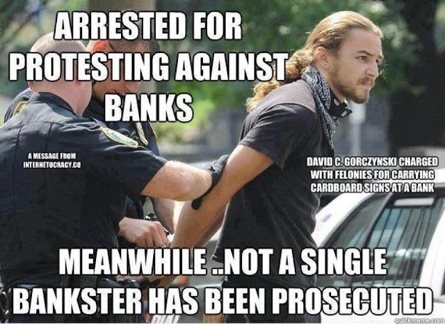 AmericanKabuki – Protesting Against Banks…. – 5 May 2013 215291_644051612288317_1674781330_n