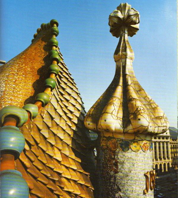 Gaudijeva arhitektura GaudiRoofs