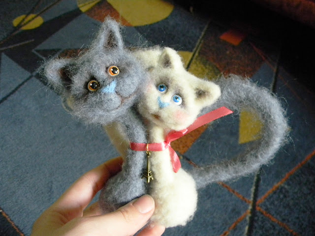 Мастер класс по созданию парных кошек     Elchy DSCN6088