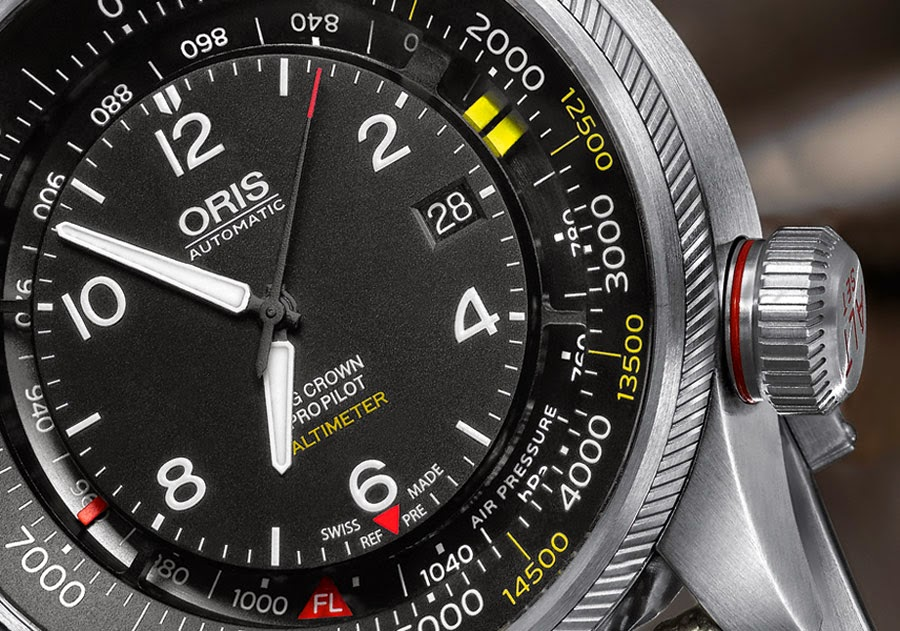 Oris Big Crown ProPilot Altimètre Oris-Big-Crown-ProPilot-Altimeter-dial