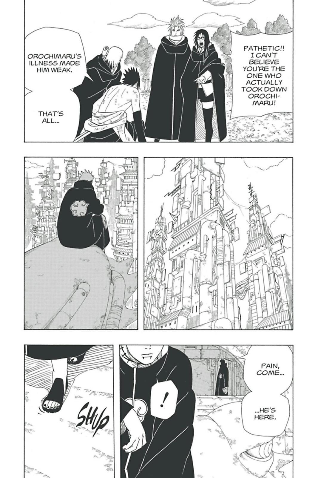 Mais poderoso do que você imagina #1: Orochimaru 0363-015