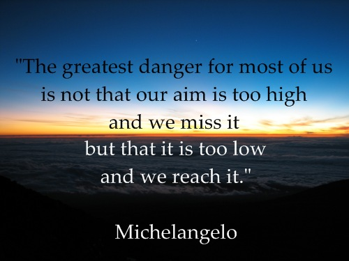 Rick's Picks: Neat Videos From a Christian Perspective- Inspiring and Well Worth A Watch! - Page 2 Inspirational-quote-michelangelo-sunrise