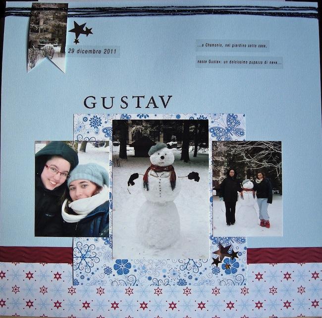 Gustav: il pupazzo di neve... Gustav