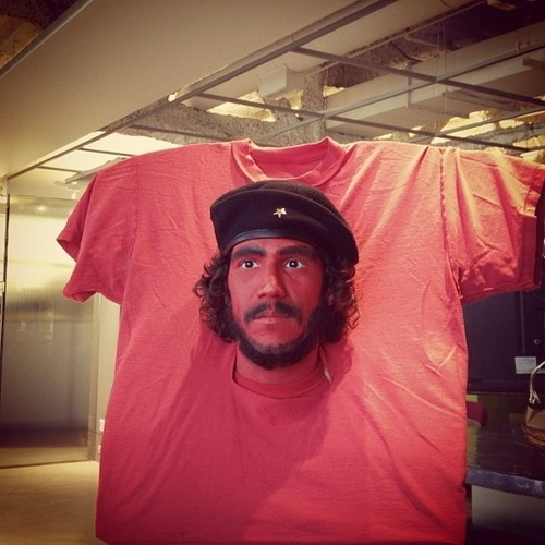 Camiseta con la cara de Stoner Disfraz-camiseta-che