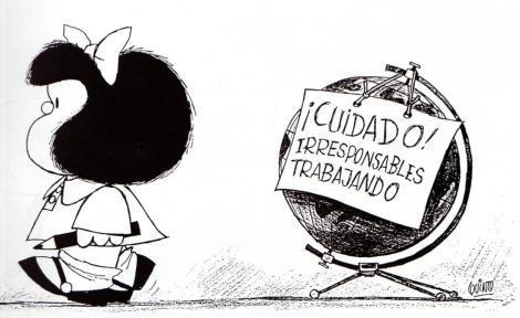 La Casa Blanca rechaza construir la Estrella de la Muerte Mafalda