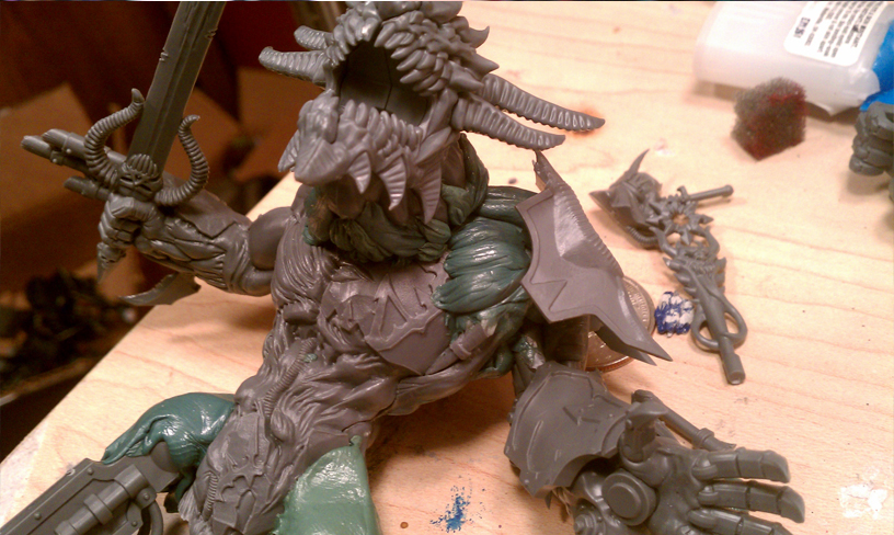 Another conversion, a Bipedal Soul Grinder! IMAG0586