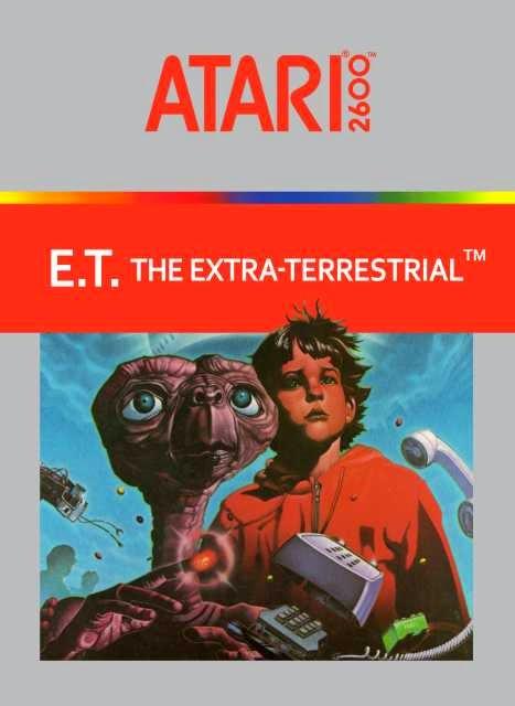 ¿El peor videojuego de la historia? E.T.%2Bthe%2BExtra-Terrestrial