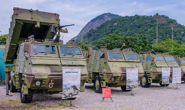 Brasil recibe el primer lote de vehículos Mk-6 del plan 'Astros 2020'. Dsgsgegew