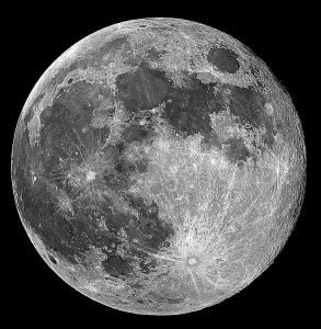 Hold on for this one: The Moon is hollow and this is why  Moon-293x300