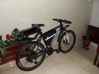 Presento los cambios que han dado lugar a la nueva bici que he montado sobre el 9C de 3,5 kW 1