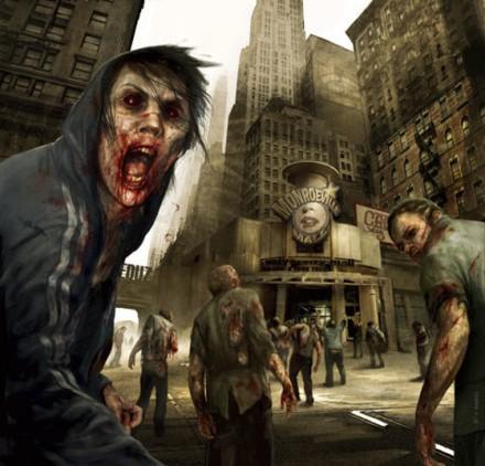 Λευκοί Οδοιπόροι Zombie-apocalypse