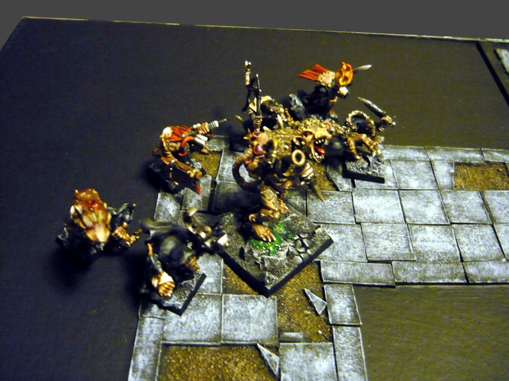 Testing Karak Zorn - first battle in the dungeons P1050492