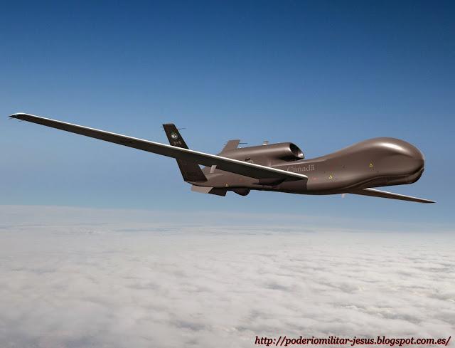 Corea - Aeronaves  no tripuladas y Drones  de todo el mundo. Noticias,comentarios,imagenes,videos. - Página 3 RQ-4%2BGlobal%2BHawk%2B%25282%2529