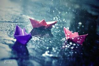Funny How the Mind Can Wander Rain%2Bon%2Bsidewalk