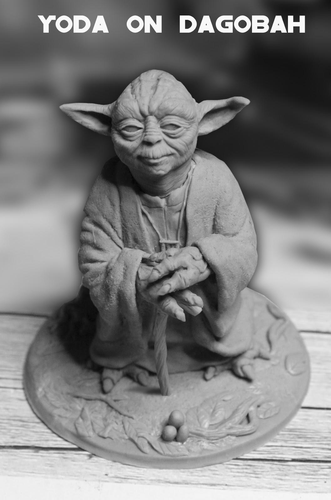 Yoda sur Dagobah Yoda