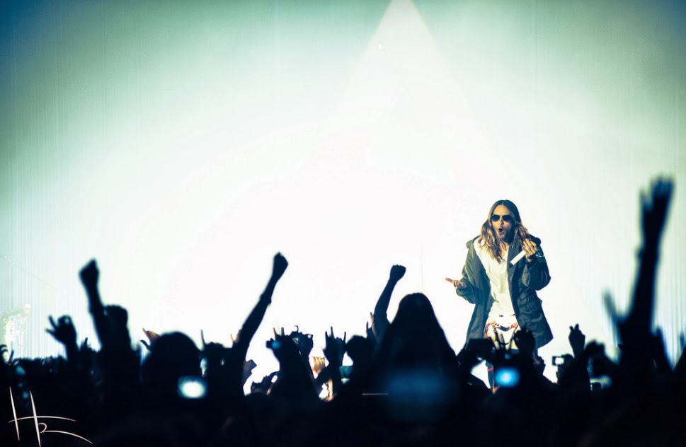 Live Report : Thirty Seconds To Mars + Twin Atlantic @ Le Zénith, Paris - 18/02/14 Jareddd