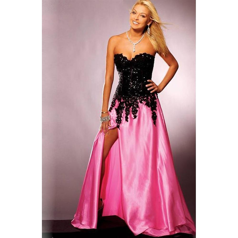 [Event] Festivités au Domaine Pink-and-black-prom-dresses