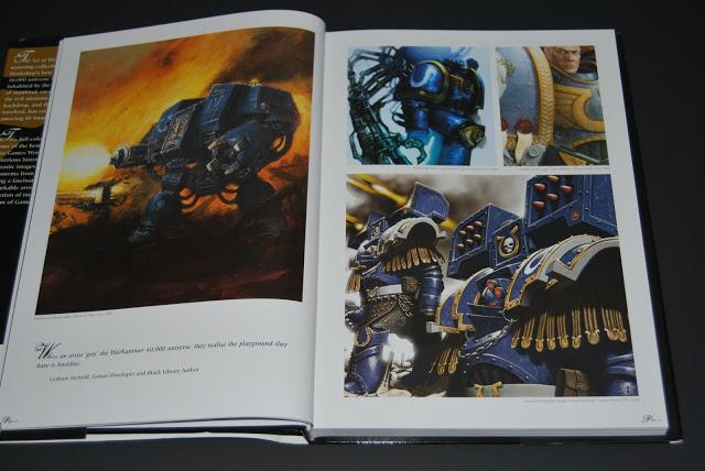 Artbook Review : The Art Of Warhammer 40 000  DSC_0790