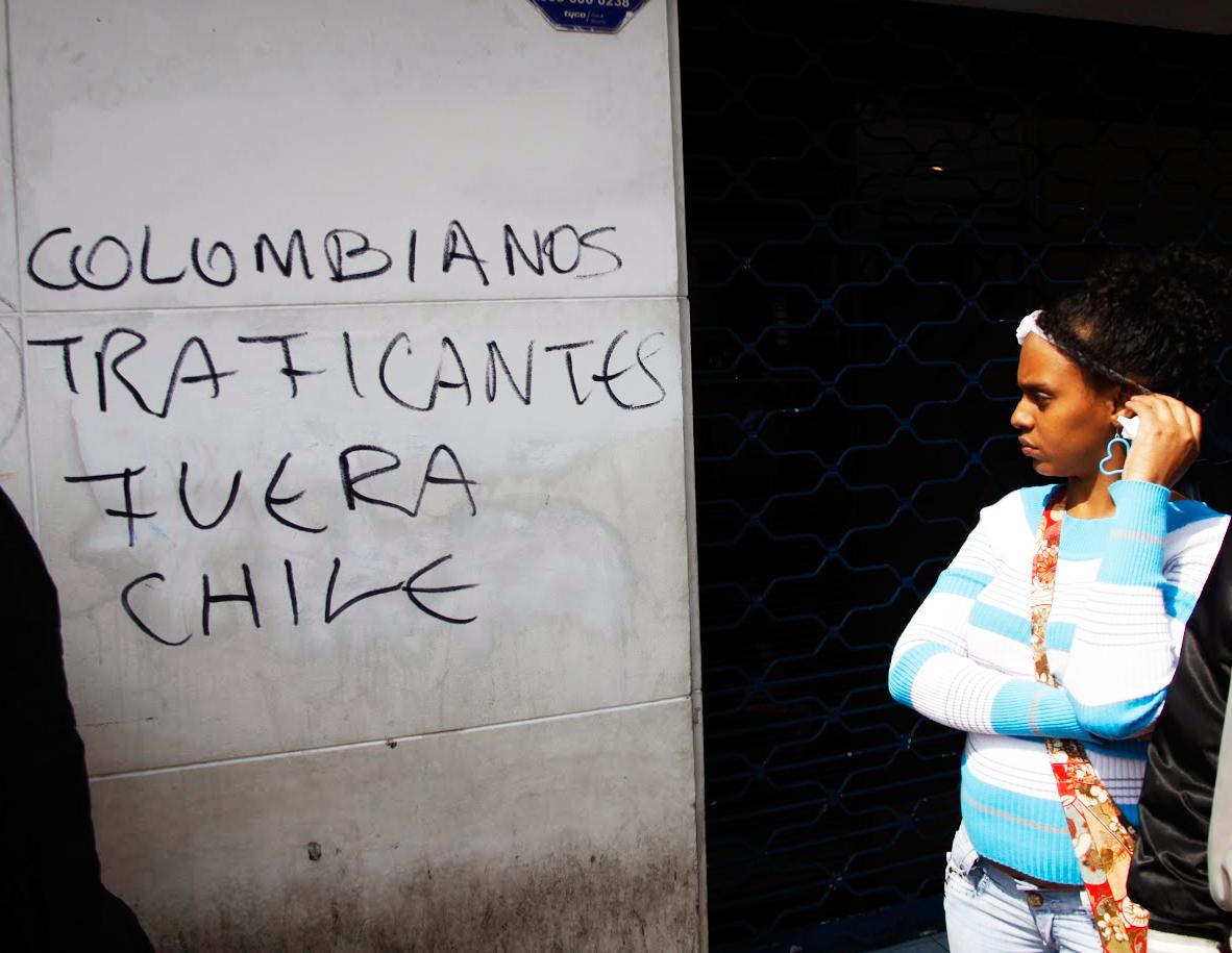 hasta cuando este gobierno comunista permite que los colombianos destruyan el pais? - Página 2 Xenofobia